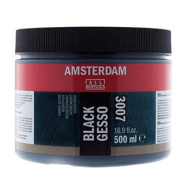 Gesso Noir 3007 Amsterdam 500ml