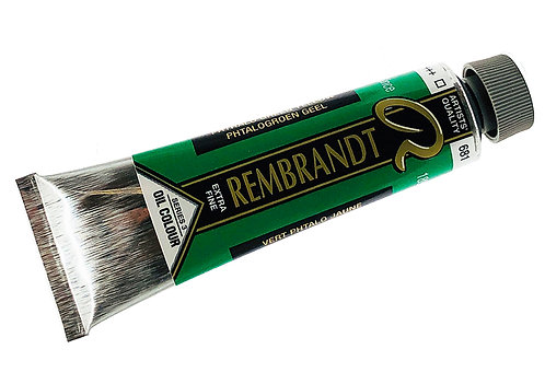 Huile Rembrandt Vert Phtalo Jaune 681 S3