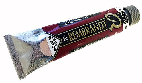 Huile Rembrandt Rouge Cadmium Pourpre 309 S4