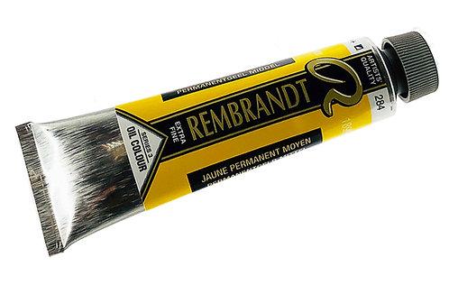 Huile Rembrandt Jaune Permanent Moyen 284 S3