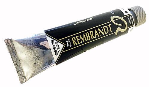 Huile Rembrandt Noir de Bougie 702 S1