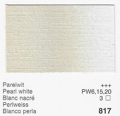 Huile Rembrandt Blanc de Perle 817 S3