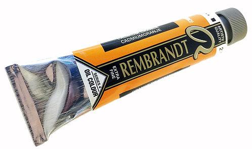 Huile Rembrandt Orange Cadmium 211 S4
