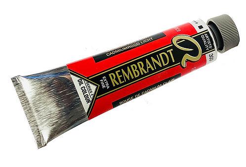 Huile Rembrandt Rouge Cadmium Clair 303 S4