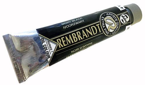 Huile Rembrandt Noir d'Ivoire 701 S1