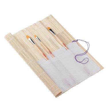 Natte en bamboo pour pinceaux Art Creation