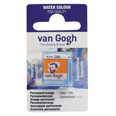 Aquarelle Van Gogh Orange permanent