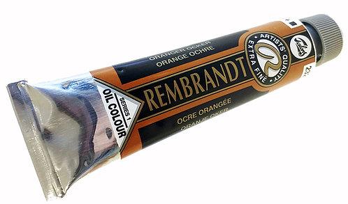 Huile Rembrandt Ocre Orangée 232 S1