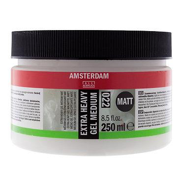 Médium Gel Extra Epaississant Mat Amsterdam 250 ml