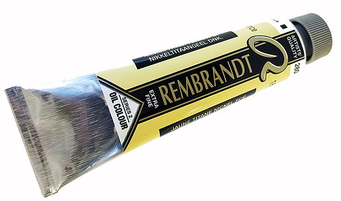 Huile Rembrandt Jaune Titane Nickel Foncé 280 S2