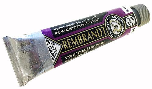 Huile Rembrandt Violet Bleu Permanent 568 S3