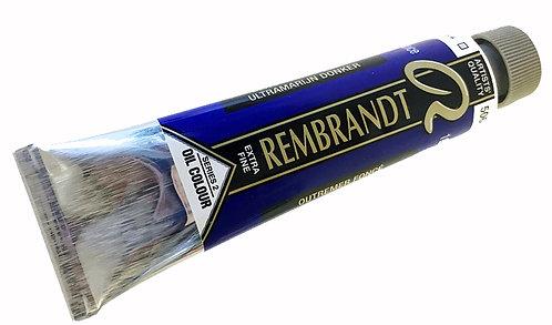 Huile Rembrandt Outremer Foncé 506 S2