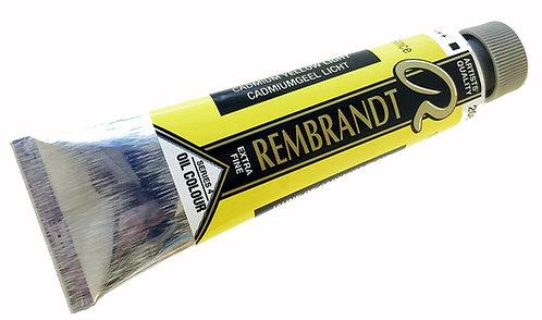 Huile Rembrandt Jaune Cadmium C 208 S4