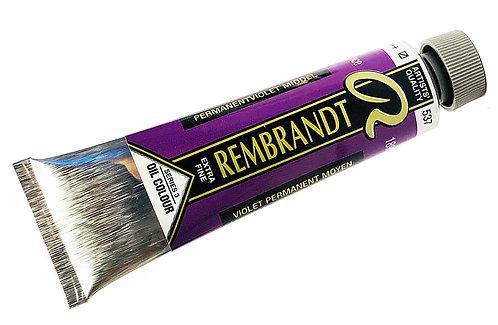 Huile Rembrandt Violet Permanent Moyen 537 S3