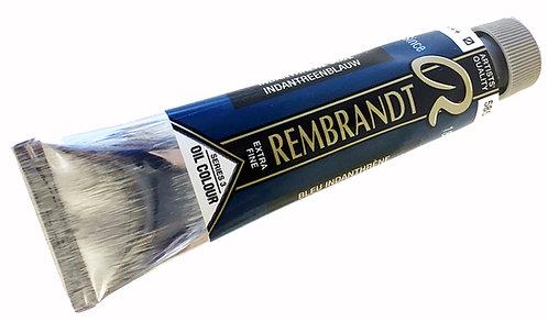 Huile Rembrandt Bleu Indanthrène 585 S3