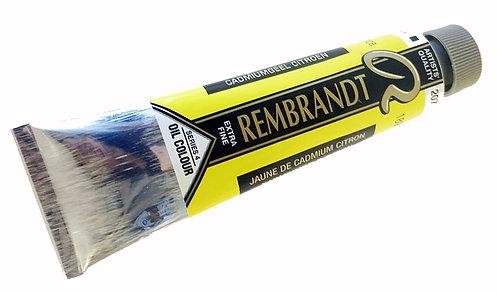 Huile Rembrandt Jaune Cad Citron 207 S4