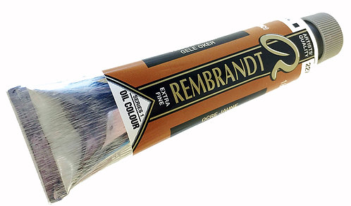 Huile Rembrandt Ocre Jaune 227 S1