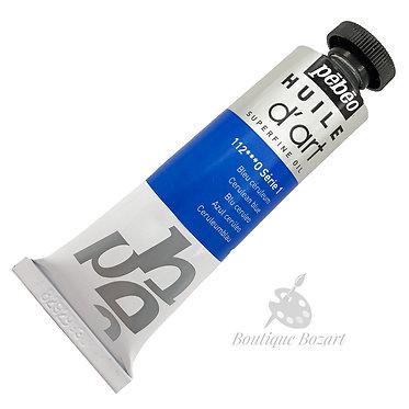 Huile D'Art super fine 37ml Bleu céruléum 112