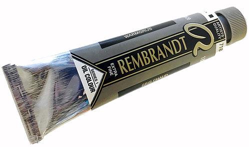 Huile Rembrandt Gris Chaud 718 S1