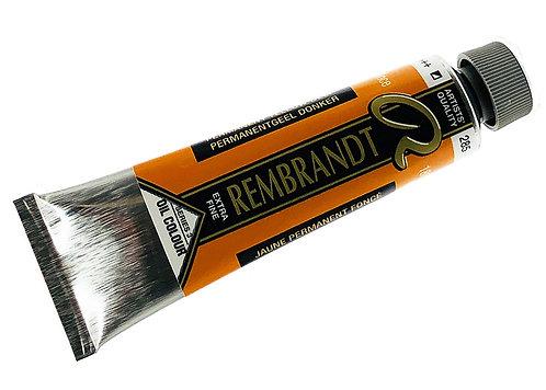 Huile Rembrandt Jaune Permanent Foncé 285 S3