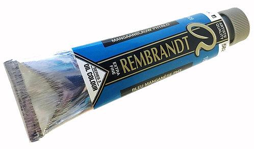 Huile Rembrandt Manganèse bleu Phtalo 582 S3