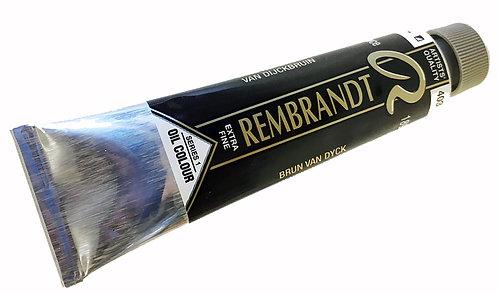 Huile Rembrandt Brun Van Dyck 403 S1