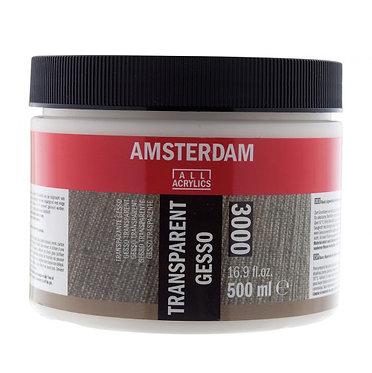 Gesso Transparent 3000 Amsterdam 500ml