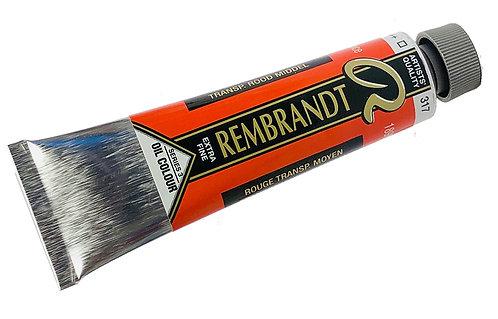 Huile Rembrandt Rouge Transparent Moyen 317 S3