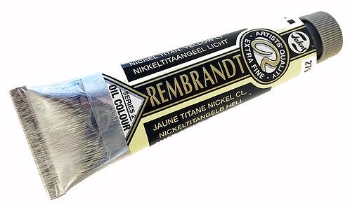 Huile Rembrandt Jaune Titane Nickel Clair 279 S2