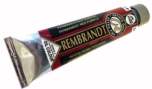 Huile Rembrandt Rouge Permanent Pourpre 348 S3