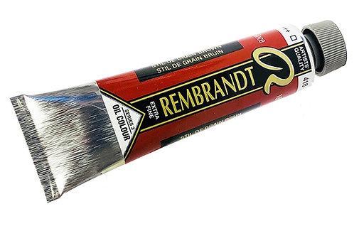 Huile Rembrandt Still de Grain Brun 418 S3