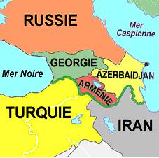 Carte, Géorgie