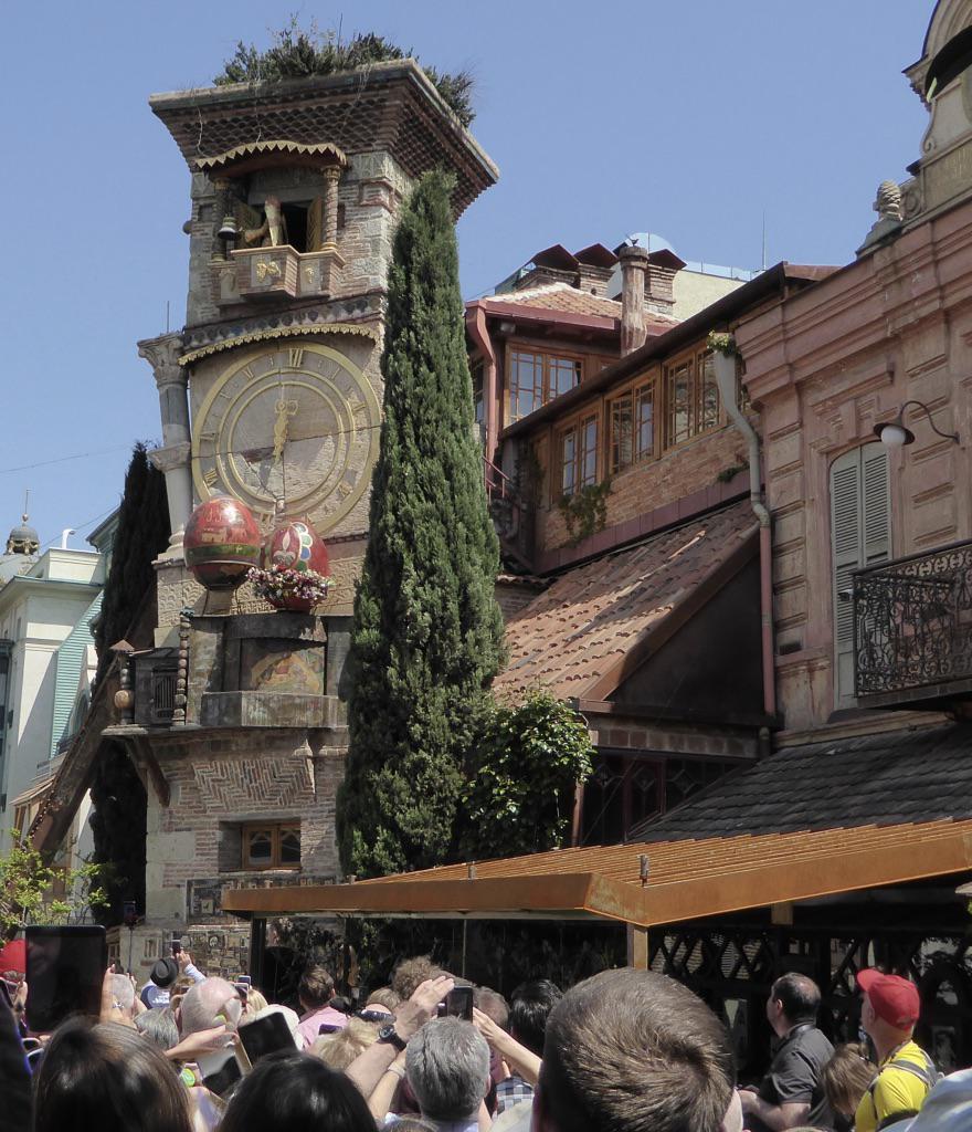 Théâtre de marionnettes de Rezo Gabriadze, Tbilissi