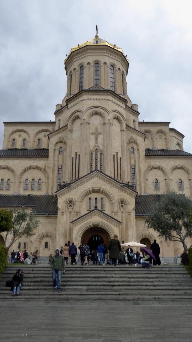 Cathédrale Saméba, Tbilissi