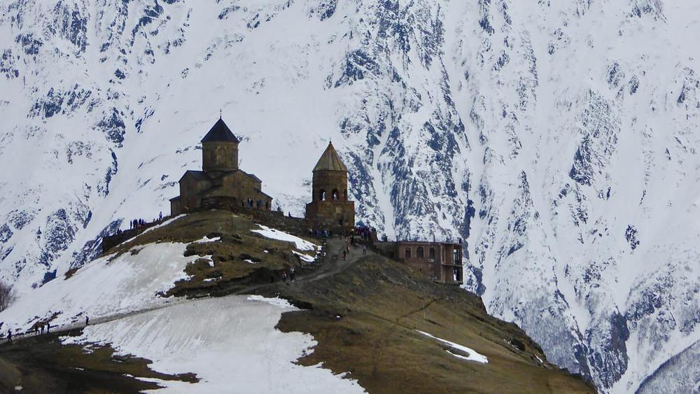Église de la Sainte Trinité, Kazbegi