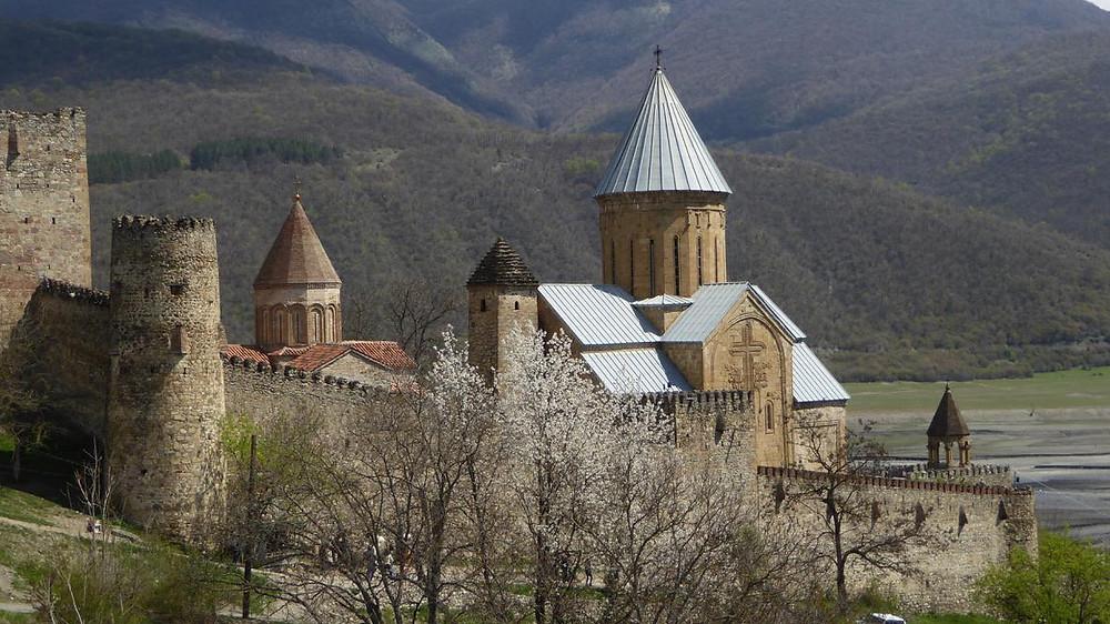 Monastère forteresse, Ananouri