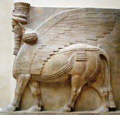 Human-headed_winged_bull_Khorsabad_profi