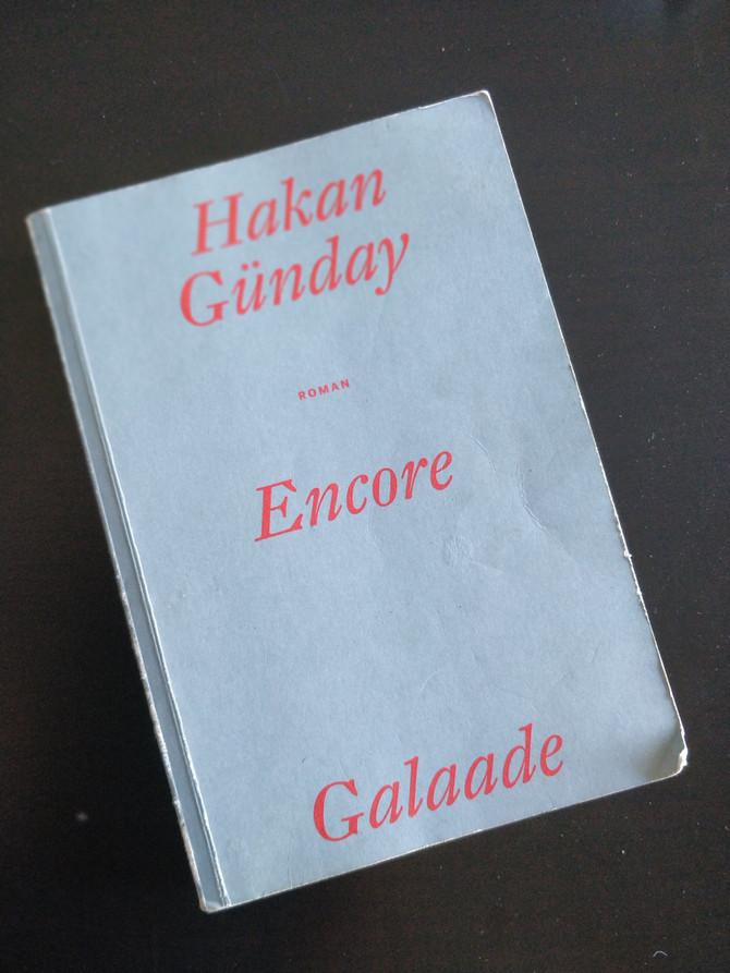Encore, un livre poignant de Hakan Günday