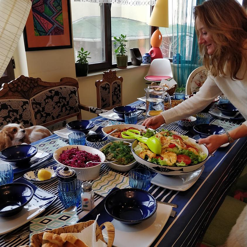 Atelier de cuisine turque