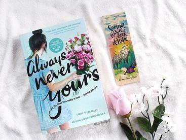 Always Never Yours by  Emily Wibberley and  Austin Siegemund-Broka - Book Review