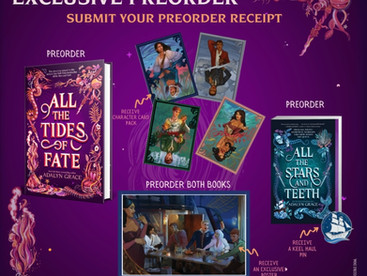Preorder Campaign for All the Tides of Fate by Adalyn Grace