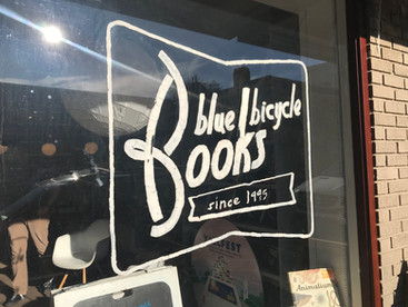 Blue Bicycle Books - Book Store Visit