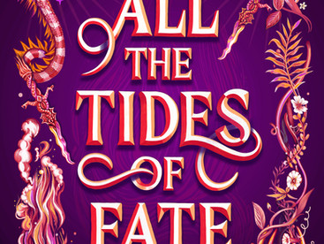 All the Tides of Fate by Adalyn Grace - Waiting on Wednesday