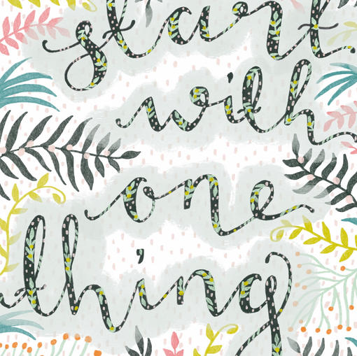 Start With One Thing