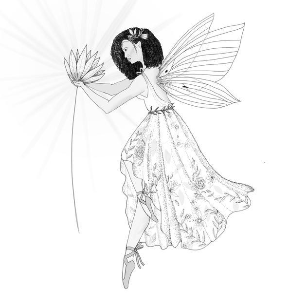 Dotwork Fairy