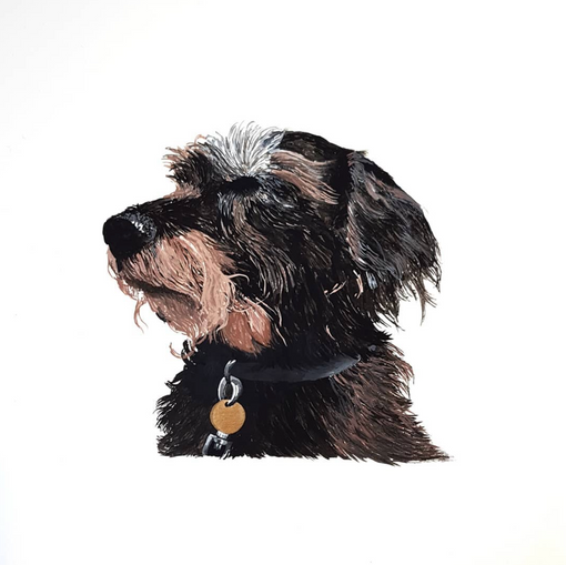Painted Pet Portrait