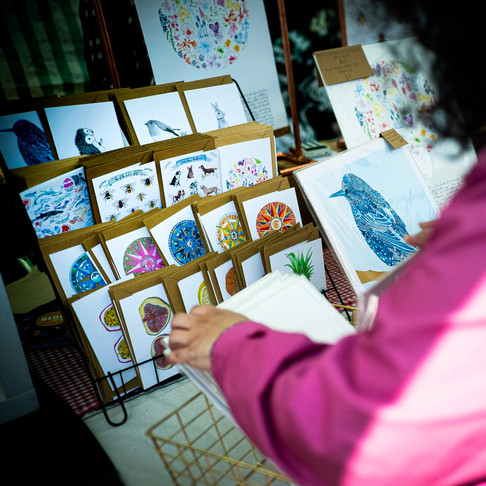 howell illustrations markets in february and march