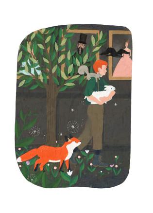 The Secret Garden Illustration