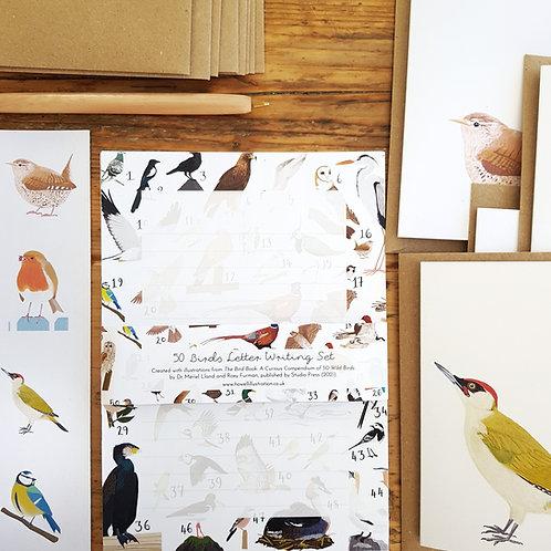Sustainable 50 Birds Letter Writing Set