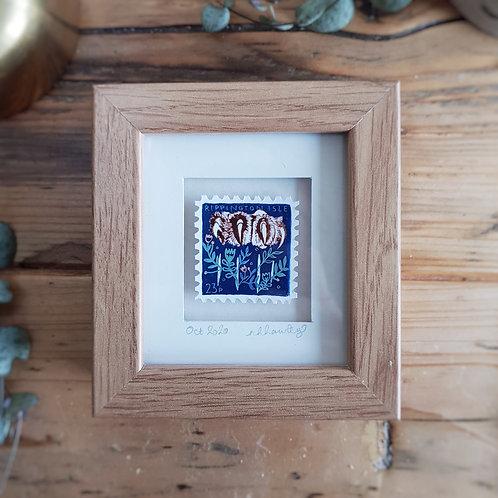 The Claw Mini Stamp Art | Original Art | Howell Illustration